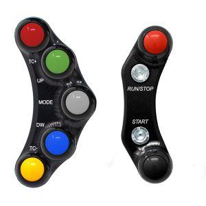 Jetprime Switch Panel Set for Aprilia RSV4 Tuono V4 APRC - RACE
