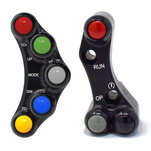 Jetprime Switch Panel Set for Aprilia RSV4 Tuono V4 APRC - Brembo Racing